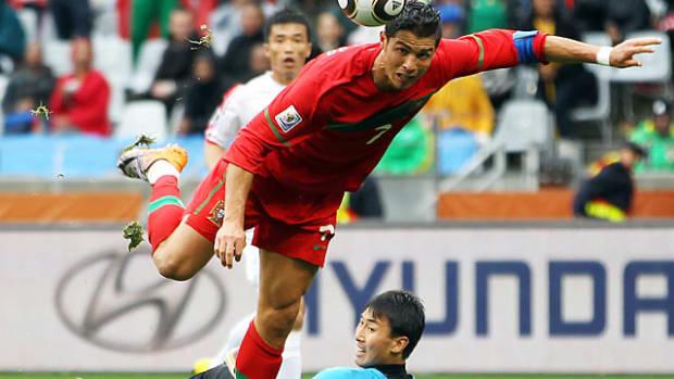 Portugal 7, North Korea 0