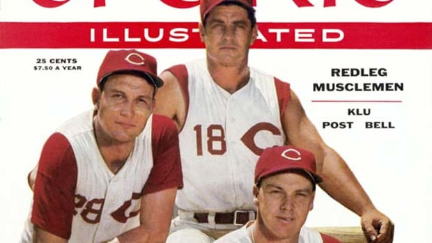 Wally Post, Ted Kluszewski and Wally Bell