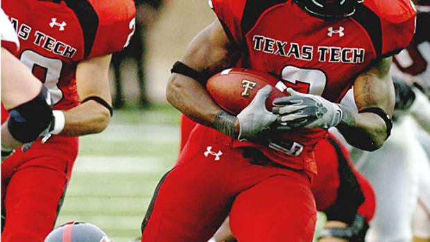 No. 25 Texas Tech 35, SMU 3