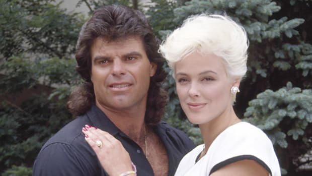 Mark Gastineau and Brigitte Nielsen