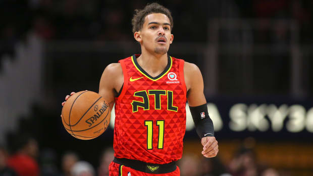 Trae Young nba dfs