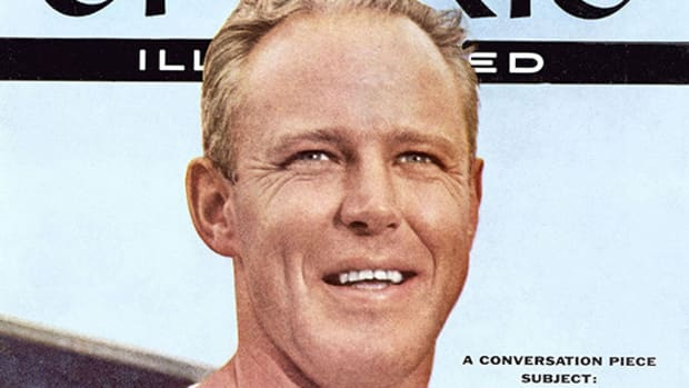 Bud Wilkinson on the cover of Sports Illustrated