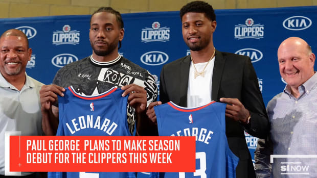 Paul George Will Make Clippers Debut Wednesday or Thursday