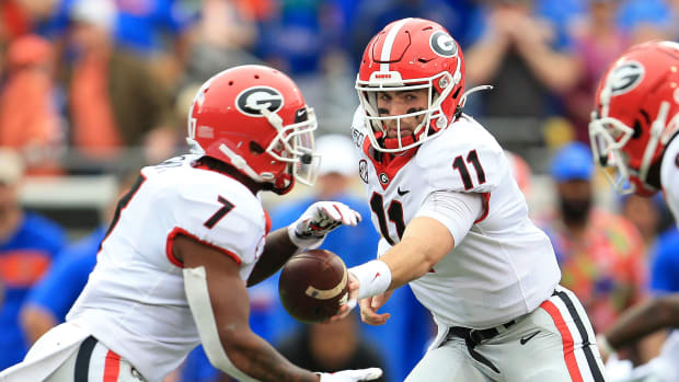 Georgia vs Auburn college football predictions
