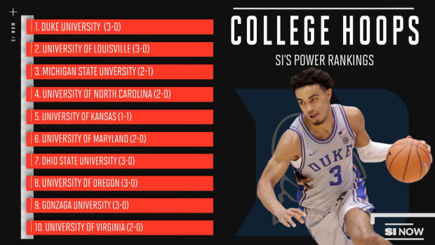 COLLEGE BASKETBALL RANKINGS