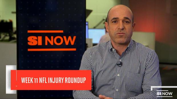 NFL Week 11 Injuries