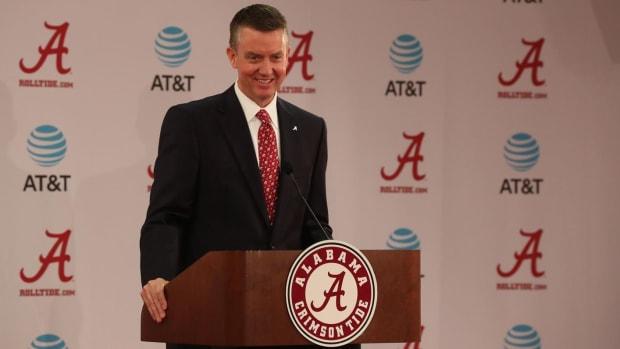 Alabama athletic director Greg Byrne