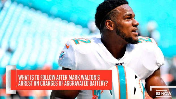 Dolphins Release Mark Walton Following Arrest on Charges of Aggravated Battery