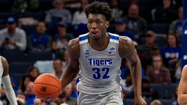 NCAA rules Memphis freshman James Wiseman ineligible.