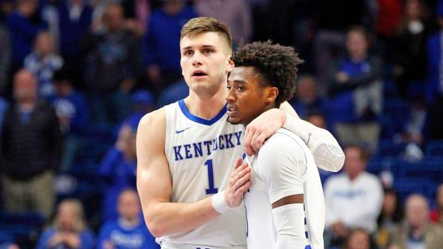 Kentucky basketball Evansville loss
