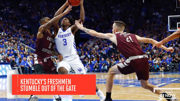 KENTUCKY BASKETBALL EARLY SEASON STRUGGLES