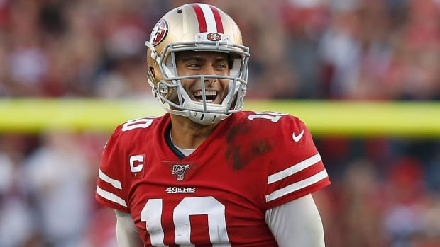 Jimmy Garoppolo comeback wins