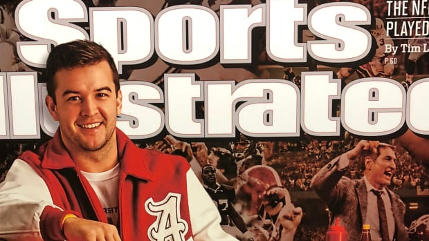 AJ McCarron on the cover of Sports Illustrated, Nov. 25, 2013