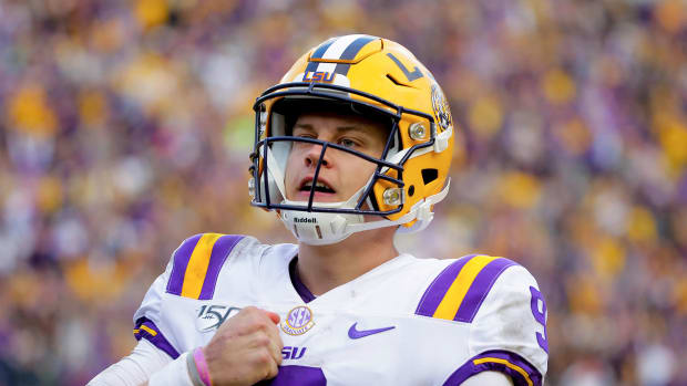 LSU football Joe Burrow
