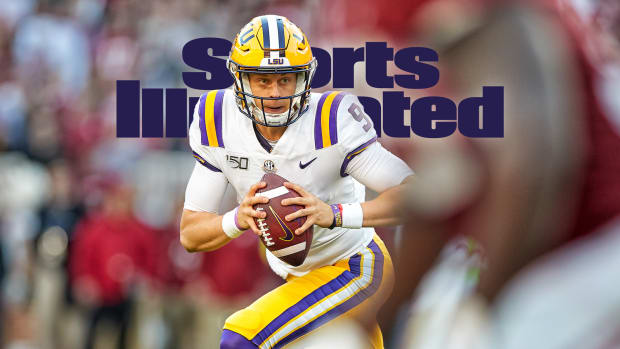 LSU Joe Burrow football