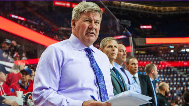 The NHL is investigating Bill Peters being accused of verbal and physical abuse.