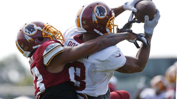 Josh Doctson TC Redskins © Geoff Burke-USA TODAY Sports