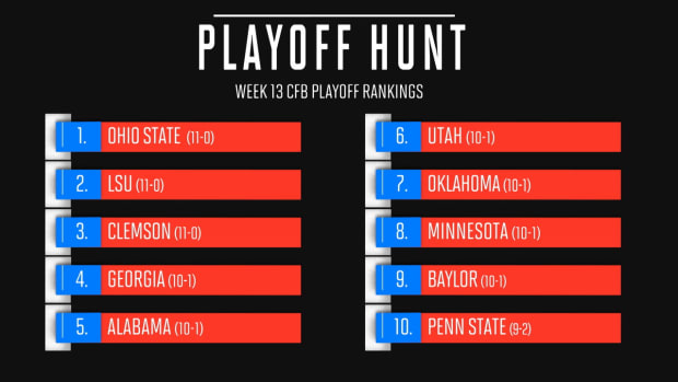 OHIO STATE RANKED #1 CFB PLAYOFFS
