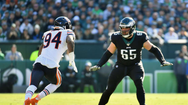 Lane Johnson became the highest paid offensive lineman in the NFL with a contract extension that will keep him an Eagle through 2025