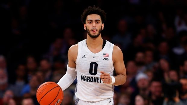 Markus Howard Marquette basketball points