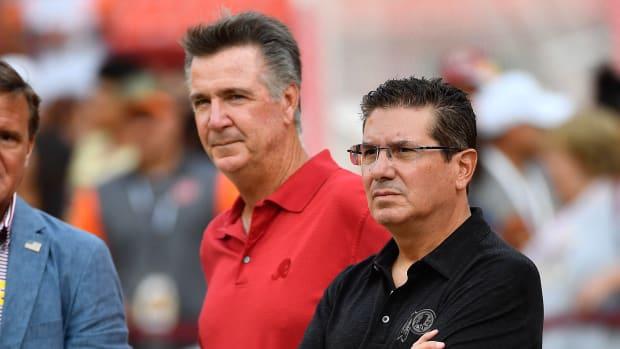 Bruce & Dan August © Brad Mills-USA TODAY Sports