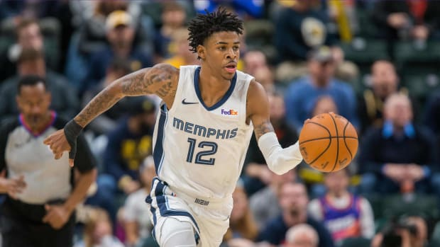 "Ja Morant is considered ""week-to-week"" after re-aggravating back spasms."