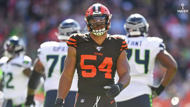 Olivier Vernon to Play Against Steelers Per Josina Anderson