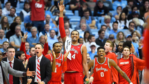 Ohio State basketball vs UNC Big Ten ACC Challenge