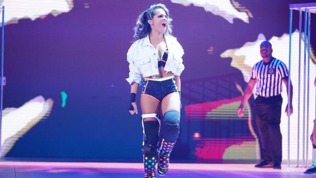 WWE's Dakota Kai at NXT WarGames