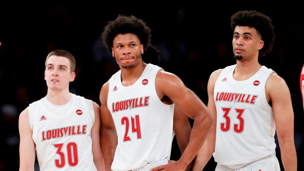 Louisville basketball upset Texas Tech