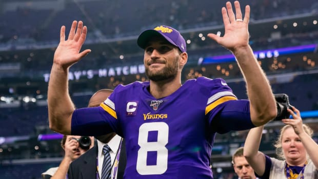 Kirk Cousins Praise © Brad Rempel-USA TODAY Sports