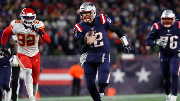 Tom Brady Challenges Lamar Jackson Race