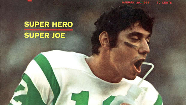 Joe Namath, Sports Illustrated cover, Jan. 20, 1969