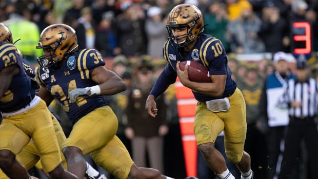 Navy Malcolm Perry Beats Army