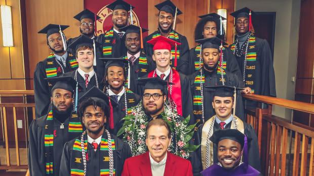 The latest Alabama football graduates