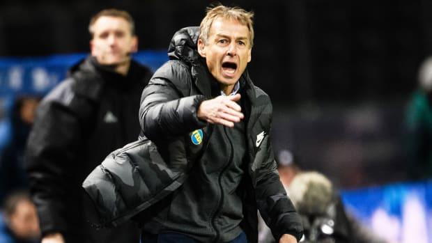 Jurgen Klinsmann is Hertha Berlin's new manager