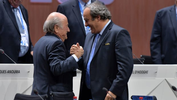 Sepp Blatter and Michel Platini are banned by FIFA