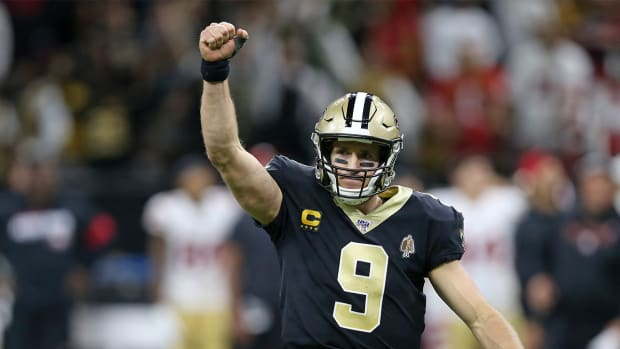 Drew Brees Touchdown Pass Record