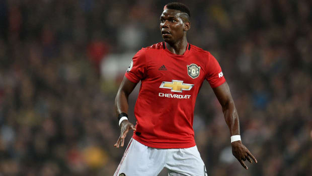 Paul Pogba's Man United return has been delayed