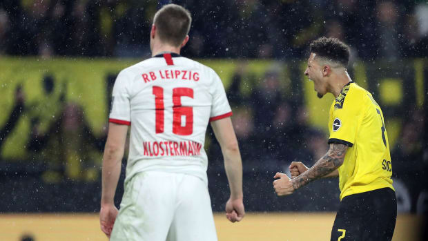 Dortmund draws RB Leipzig in the Bundesliga