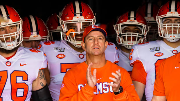 Clemson football recruiting 2020