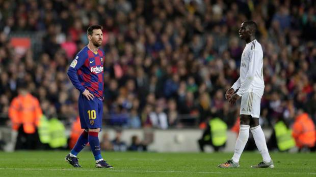 Barcelona draws Real Madrid in El Clasico
