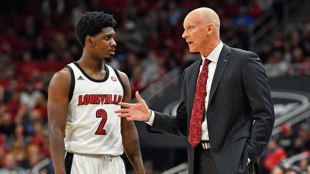 Louisville basketball coach Chris Mack