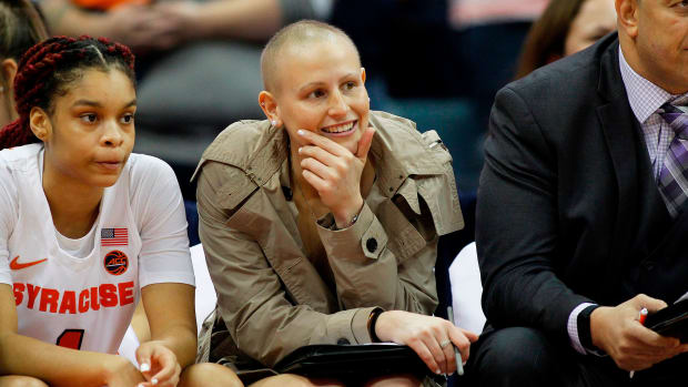 Syracuse Tiana Mangakahia cancer battle