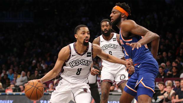 Nets Knicks Struggles
