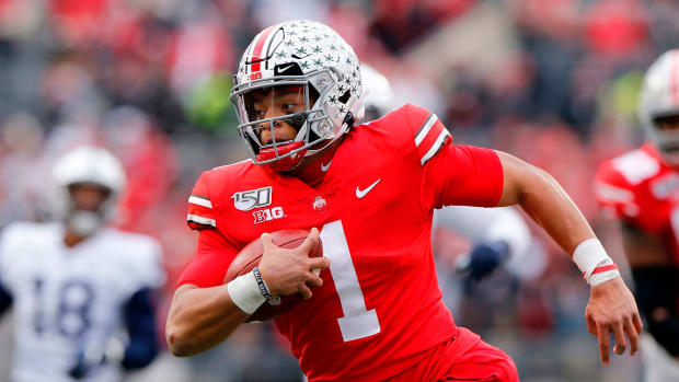 Ohio State football Justin Fields playoff