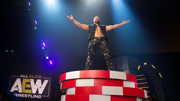 Jon Moxley appears at AEW's Double or Nothing