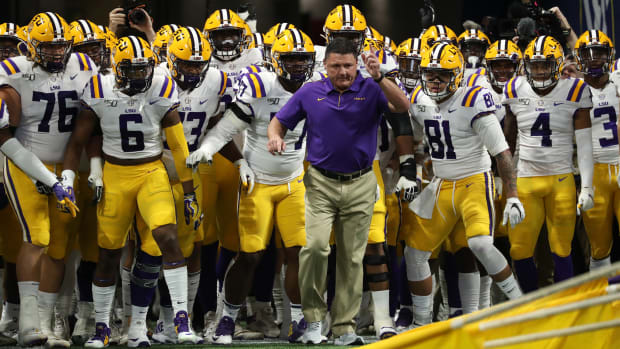 Ed Orgeron and LSU Tigers