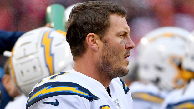Philip Rivers EMotional Chargers Loss