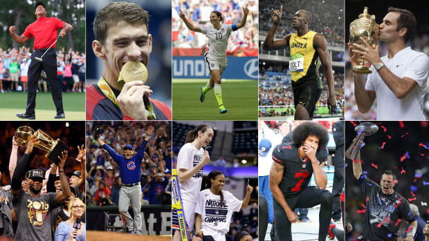 The 2010s featured some incredible champions and iconic sports moments